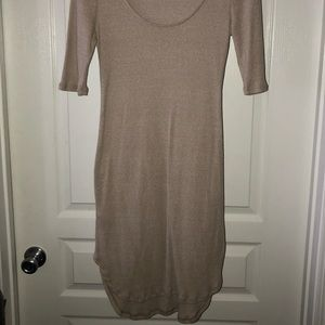 Naked wardrobe ribbed dress. Never worn.
